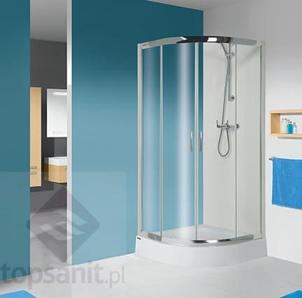 Sanplast Tx Kabina Prysznicowa Półokrągłą Kp4tx4b 90x90 Cm