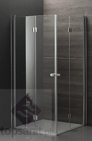 Rea Fold N2 Kabina Prysznicowa 90x90 Cm Kwadratowa Drzwi Składane