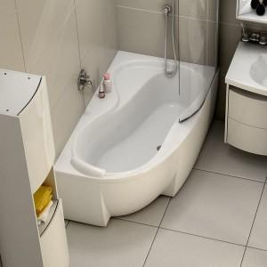 Wanny Narożne łazienkowe Sanplast Koło Roca Asymetryczne I Z