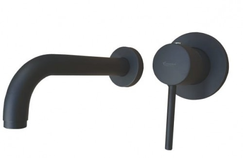 Emmevi Piper Bateria Umywalkowa Podtynkowa Czarna 45055no Topsanitpl